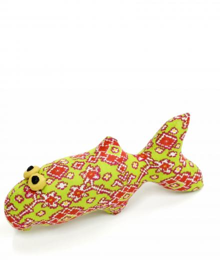 CEC Collection Small Fish Puppet green