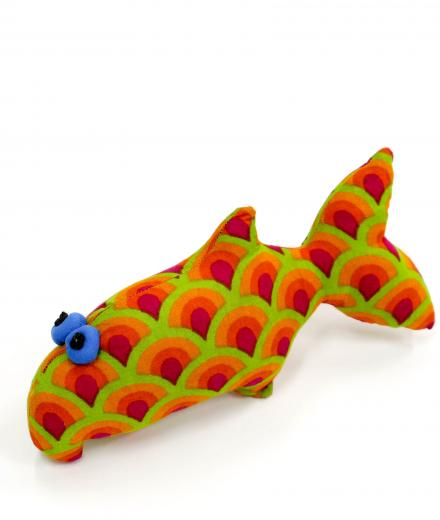 CEC Collection Small Fish Puppet orange