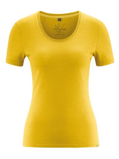 HempAge T-Shirt Jersey Curry | XS