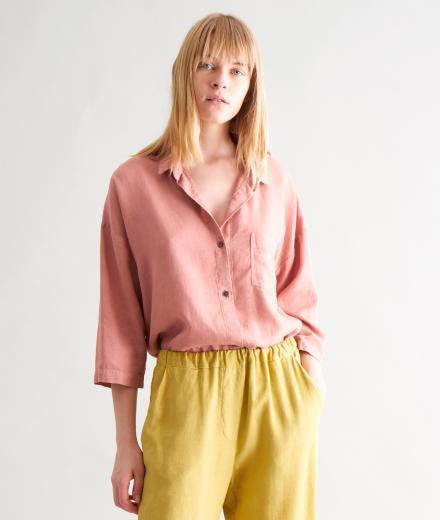 CUS Alessa Crêpe Shirt blush | M