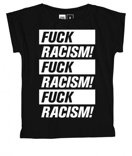 DEDICATED T-Shirt Visby Fuck Racism