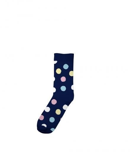 Socks Multi Dots navy | 41-45