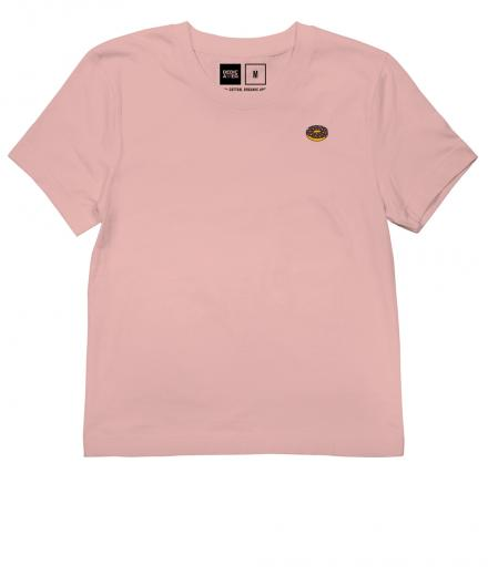 DEDICATED T-shirt Mysen Donut mellow pink | XS
