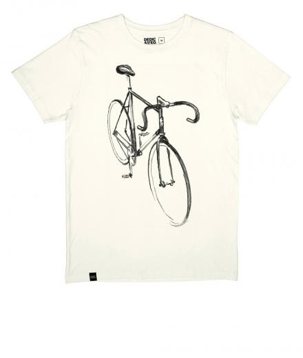 DEDICATED T-shirt Stockholm Drawn Bike