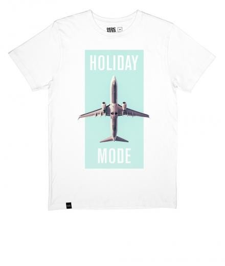 DEDICATED T-shirt Stockholm Holiday Mode white | S