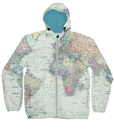 DEDICATED Windbreaker World Map