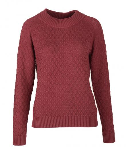 FRIEDA SAND Diva Organic Cotton Knit bordeaux | M