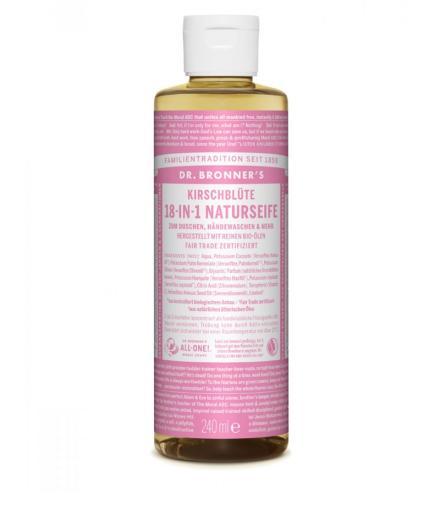DR. BRONNER'S Liquid Soap Kirschblüte