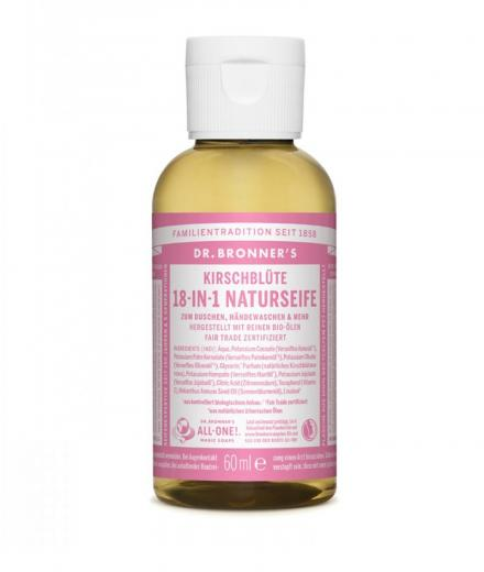 DR. BRONNER'S Liquid Soap Kirschblüte 60 ml