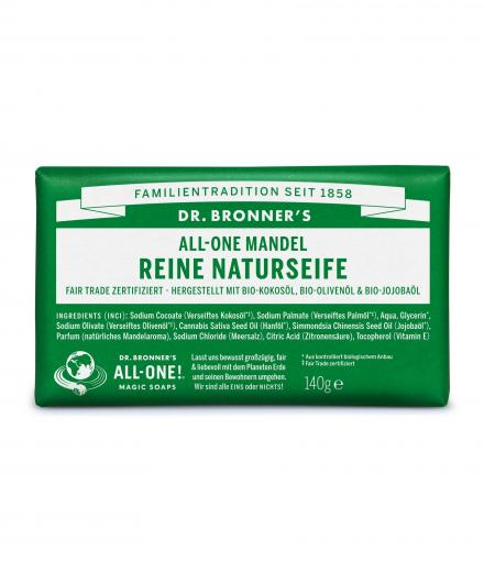 DR. BRONNER'S Bar Soap 140g Mandel