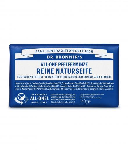 DR. BRONNER'S Bar Soap 140g Pfefferminze