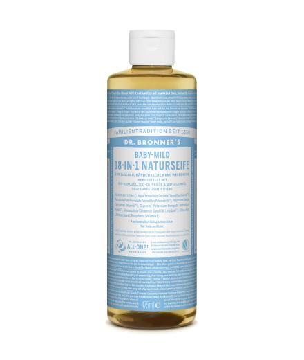 DR. BRONNER'S Liquid Soap Baby-Mild 475 ml   Baby-Mild