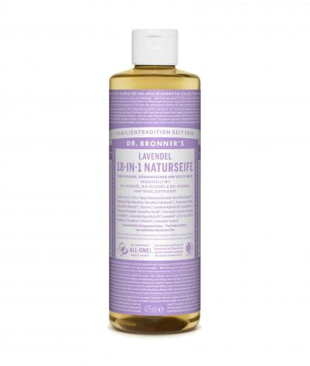 DR. BRONNER'S Liquid Soap Lavendel 475 ml