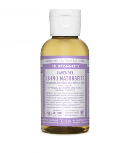 DR. BRONNER'S Liquid Soap Lavendel 60 ml