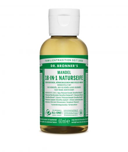 DR. BRONNER'S Liquid Soap Mandel 60 ml