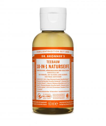 DR. BRONNER'S Liquid Soap Teebaum 60 ml