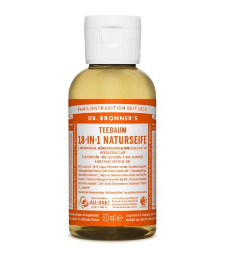 DR. BRONNER'S Liquid Soap Teebaum 60 ml