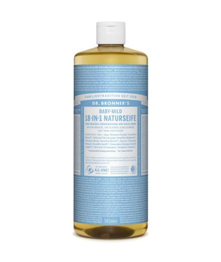 DR. BRONNER'S Liquid Soap Baby-Mild 945 ml