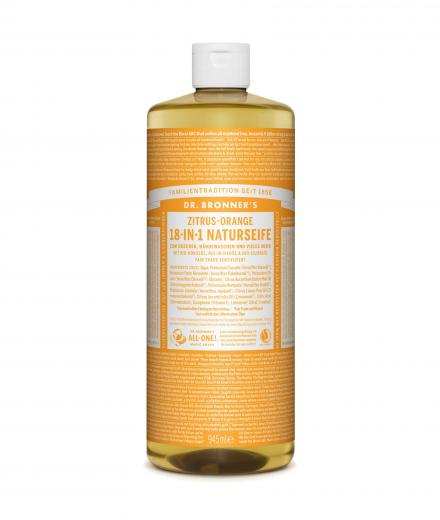DR. BRONNER'S Liquid Soap Zitrus Orange 944 ml