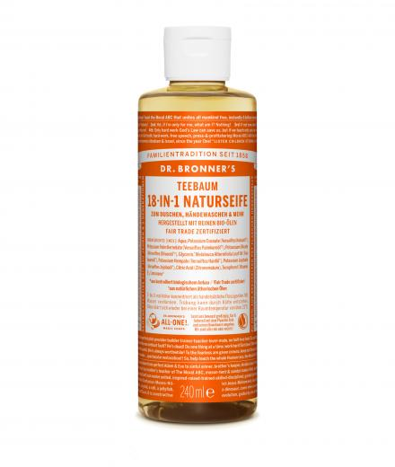 DR. BRONNER'S Liquid Soap Teebaum 236 ml