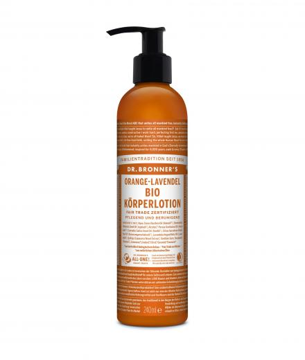 DR. BRONNER'S Lotion 240 ml | Orange-Lavendel