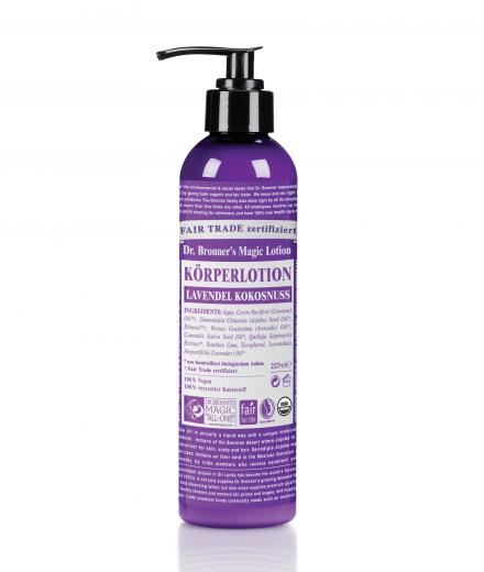 DR. BRONNER'S Lotion 237 ml Lavendel Kokosnuss