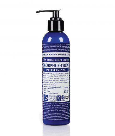 DR. BRONNER'S Lotion 237 ml Pfefferminze