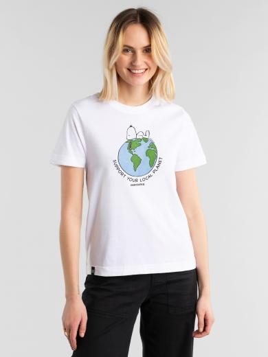 DEDICATED T-Shirt Mysen Snoopy Earth
