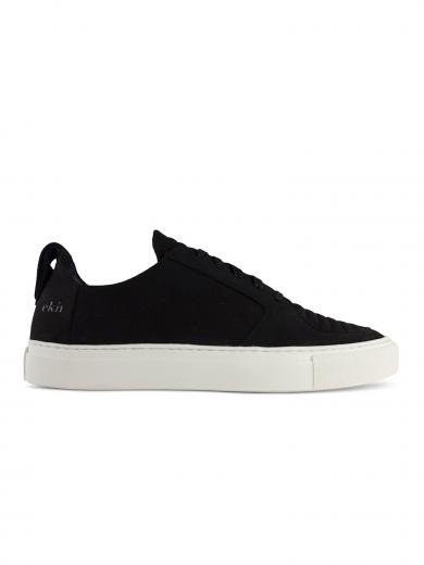 ekn footwear Argan Low Vegan black vegan