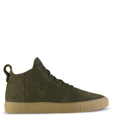 ekn footwear Argan Mid olive suede | 42