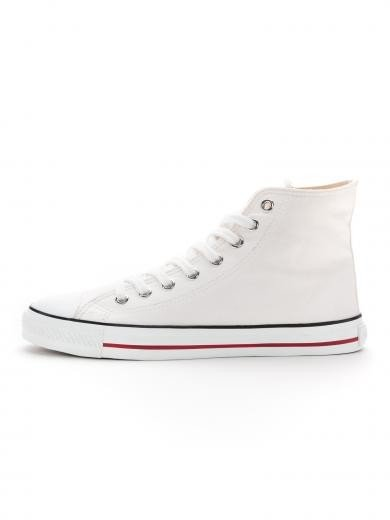 ETHLETIC Fair Trainer White Cap Hi Cut Just White Just White