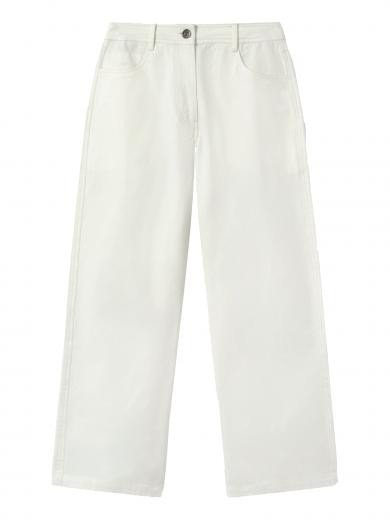 Thinking MU Elephant Pants White