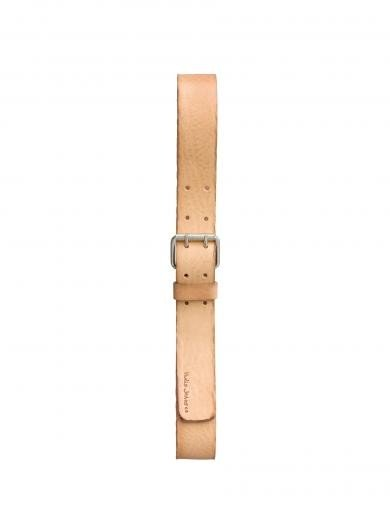 Nudie Jeans Emanuelsson Double Prong Belt natural | 90cm