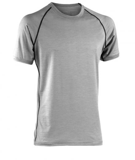 ENGEL SPORTS Shirt regular kurzarm Men silver stone | XL