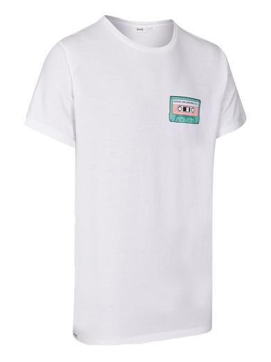 eyd Unisex T-Shirt Mixtape Weiß