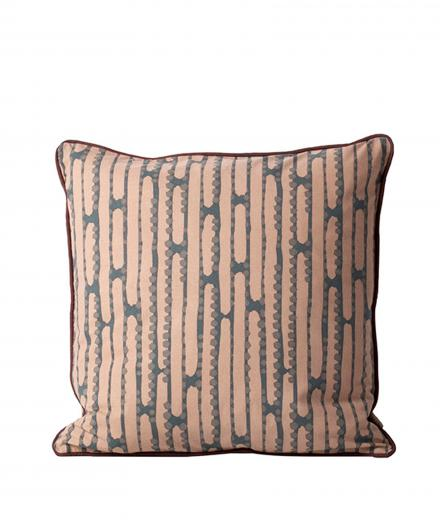 ferm LIVING Aligned Cushion Rose