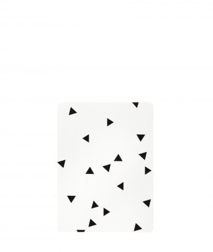 ferm LIVING Buttering Board black mini triangle