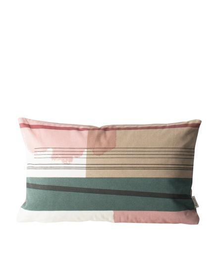 ferm LIVING Colour Block Cushion Small 1