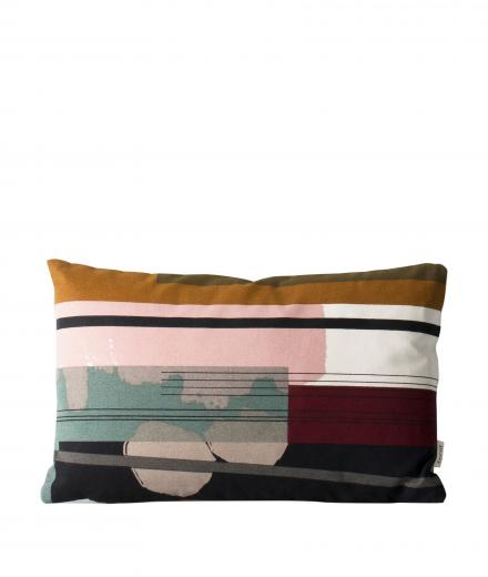 ferm LIVING Colour Block Cushion Small 3