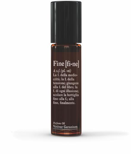 FINE Perfume Oil Vetiver Geranium 10ml