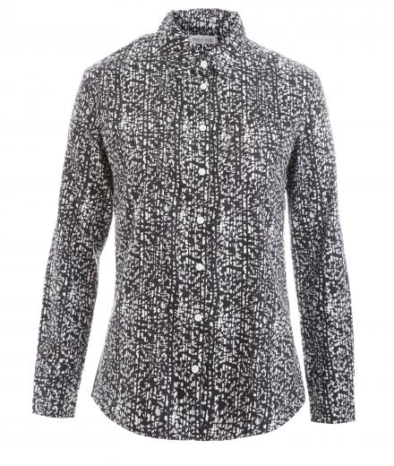 FRIEDA SAND Frieda Printed Shirt blackwhite | L