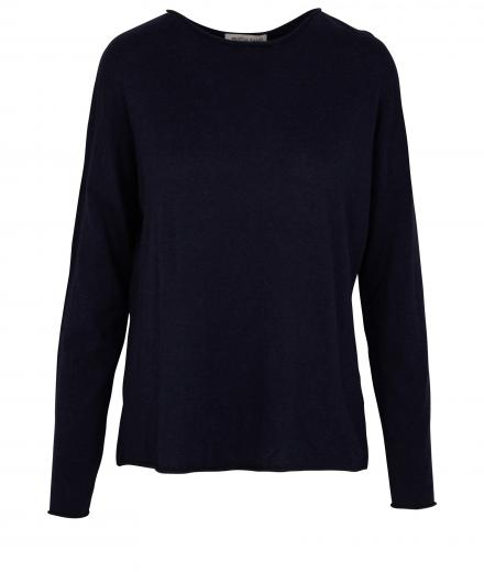 FRIEDA SAND Lilly Knit Sweater Blueberry | S