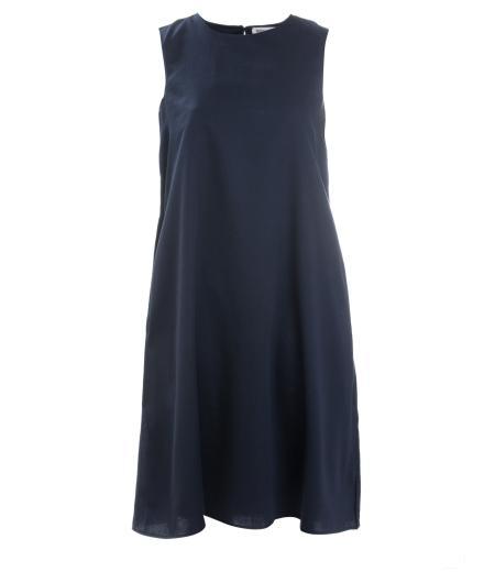 FRIEDA SAND Daruma Dress Sleeveless Blueberry | M