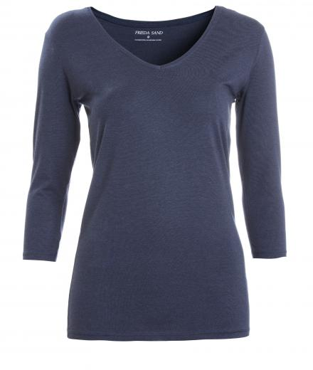 FRIEDA SAND Kahlo V-Neck Blueberry | L