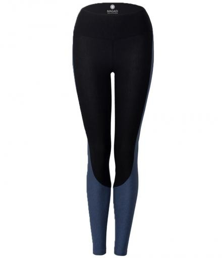 MAGADI Grace Leggings Denim Black | L