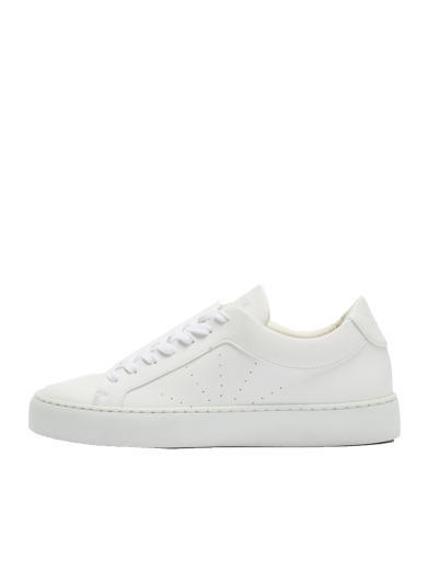 NINE TO FIVE Laced Sneaker #Gracia White star