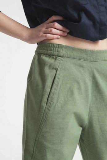 Thinking MU Green Comfy Pant M | Hedge Green