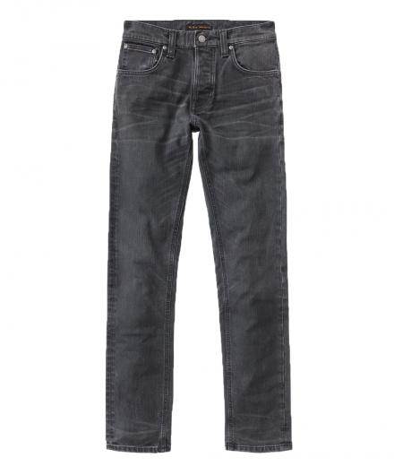Nudie Jeans Grim Tim Black Seas 33/32