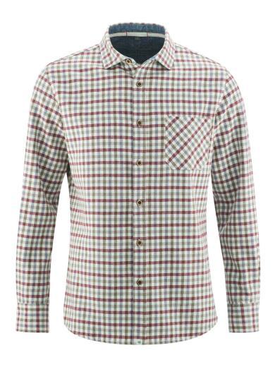 HempAge Lumberjack Shirt tinto