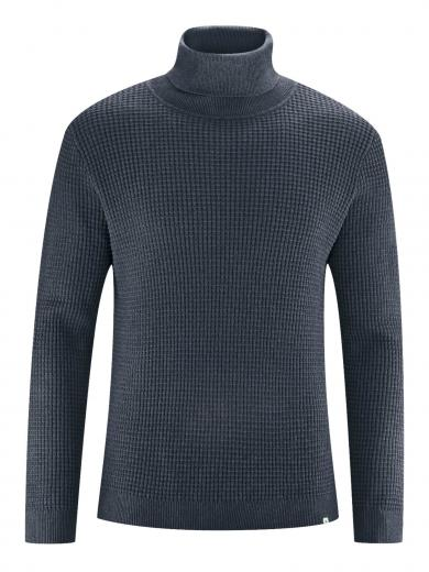 HempAge Turtleneck Sweater dark